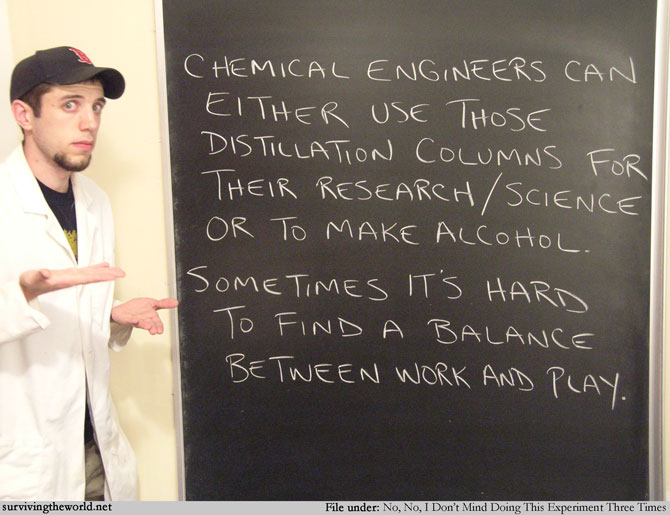 Surviving the World - Lesson 1151 - Chemical Engineering