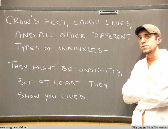 Lesson 397 - Wrinkles